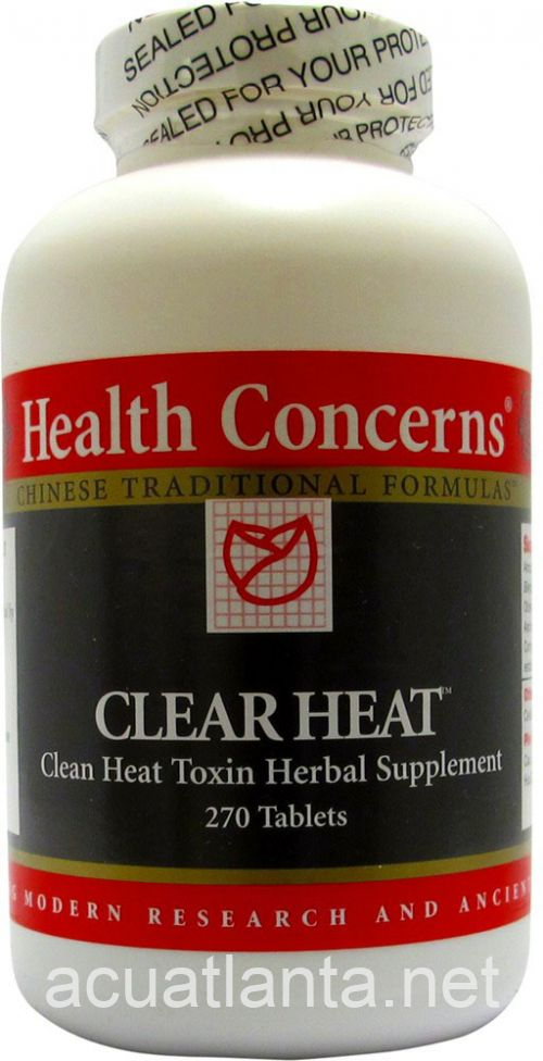 Clear Heat 270 tablets