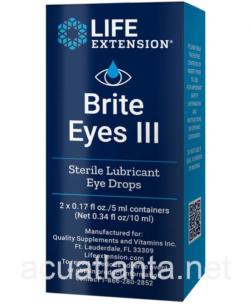 Bright Eyes III 2 tubes 5 milliliters