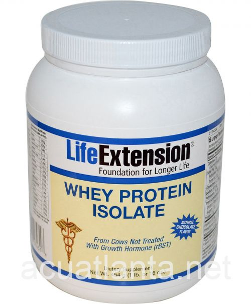 Whey Protein Isolate (Natural Chocolate Flavor) 454 grams