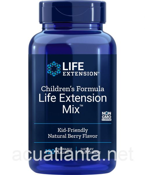 Childrens Formula Life Extension Mix 120 chewable tablets