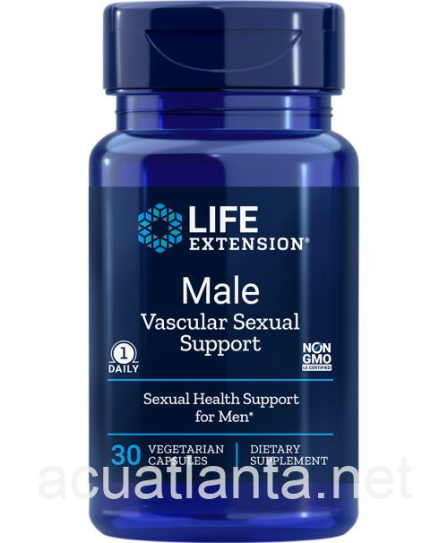 Male Vascular Sexual Support 30 veggie capsules