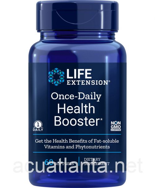 Once-Daily Health Booster 60 soft gels