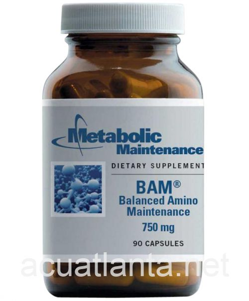 BAM (Balanced Amino Maintenance) 90 capsules 750 milligrams