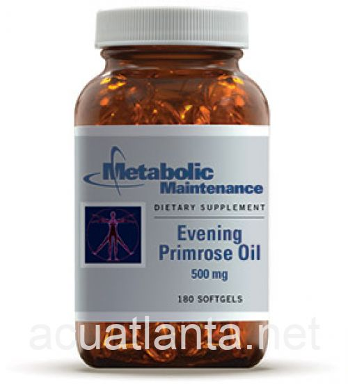 Evening Primrose Oil 180 gelcaps 500 milligrams