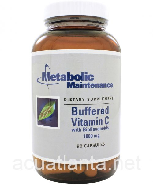 Buffered C (with Bioflavonoids) 90 capsules 1000 milligrams