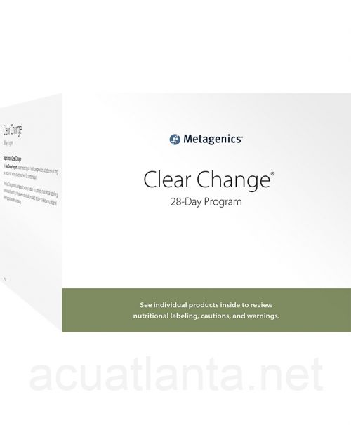 Clear Change 28 Day Program with UltraClear Plus Pineapple Banana Flavor