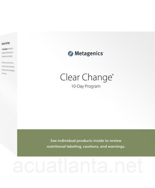 Clear Change 10 Day Program with UltraClear Plus pH Pineapple Banana Flavor