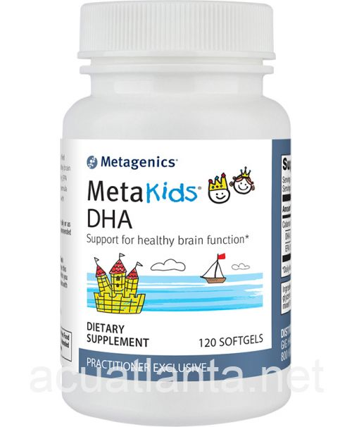 MetaKids DHA 120 soft gels