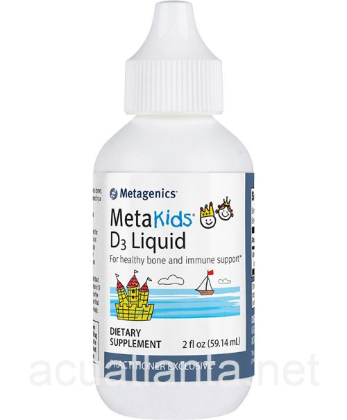 MetaKids D3 Liquid 2 ounce
