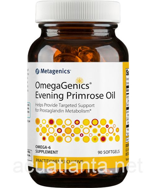OmegaGenics Evening Primrose Oil 90 softgels