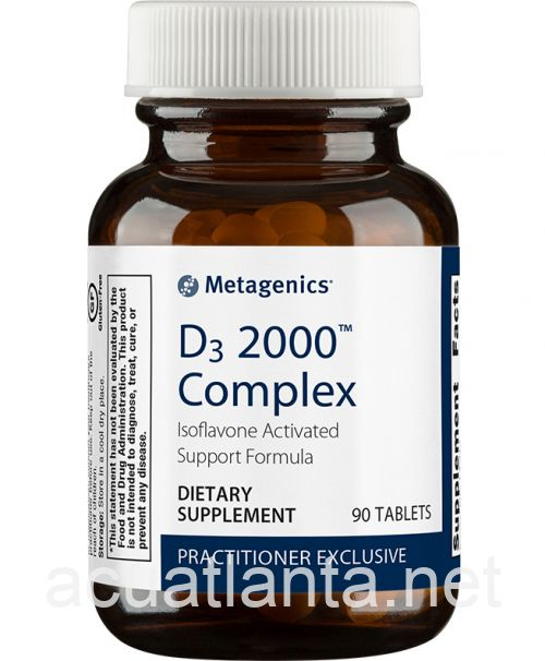 D3 2000 Complex (Formerly Iso D3) 90 tablets