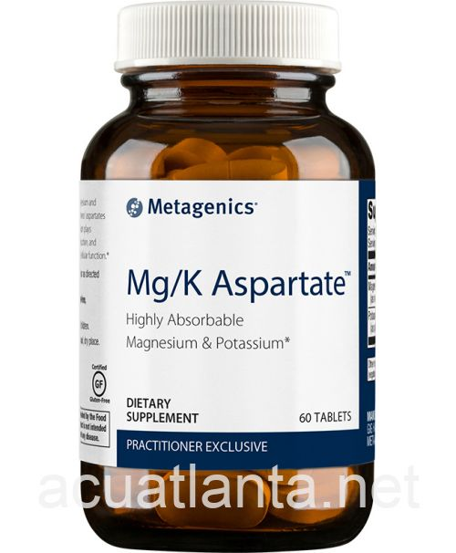 Mg/K Aspartate 60 tablets