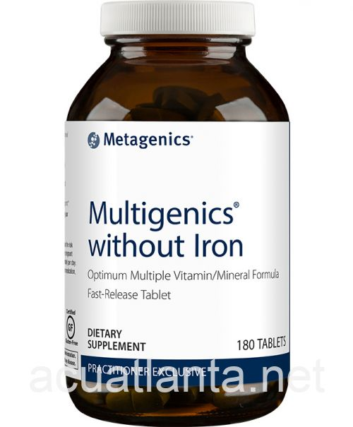 Multigenics Without Iron 180 tablets