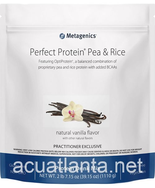 Perfect Protein Pea & Rice 30 servings Natural Vanilla Flavor