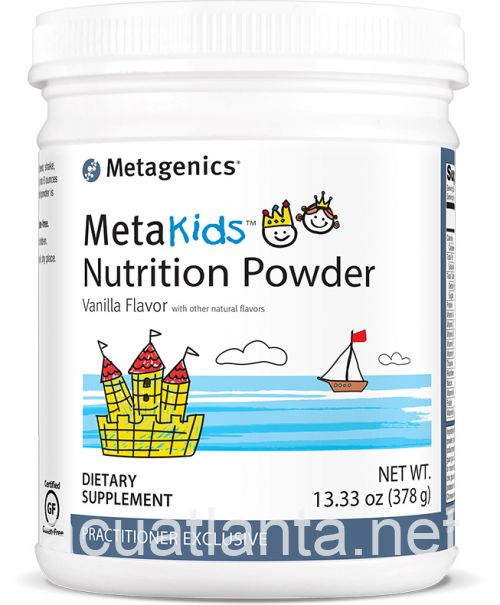 MetaKids Nutrition Powder 14 servings Vanilla
