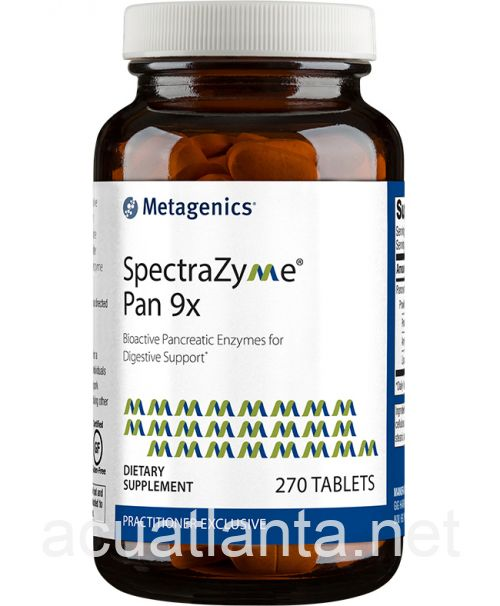 SpectraZyme Pan 9x (formerly Azeo-Pangen) 270 tablets