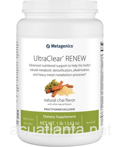 UltraClear RENEW 21 servings Natural Chai Flavor with Other Natural Flavors