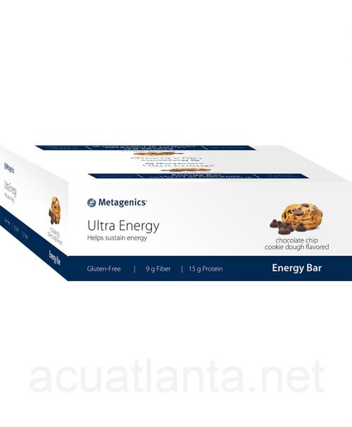 Ultra Energy 12 bars Chocolate Chip Cookie Dough Flavored
