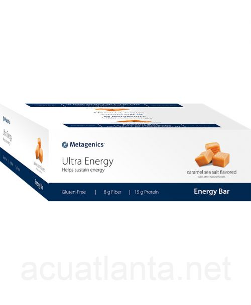 Ultra Energy 12 bars Caramel Sea Salt Flavored with Other Natural Flavors