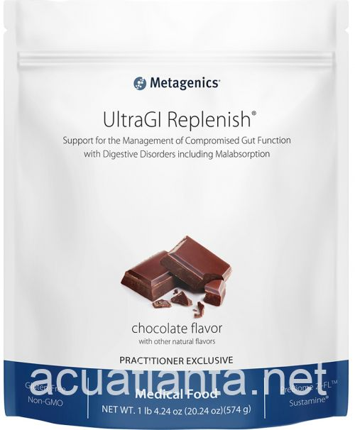 UltraGI Replenish Medical Food 14 servings Chocolate Flavor