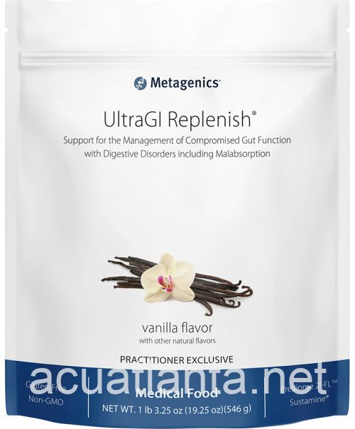 UltraGI Replenish Medical Food 14 servings Vanilla Flavor
