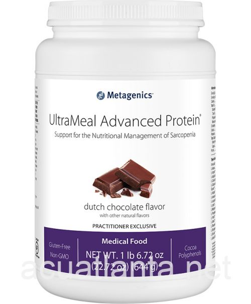 UltraMeal Advanced Protein 14 servings Dutch Chocolate Flavor with Other Natural Flavors