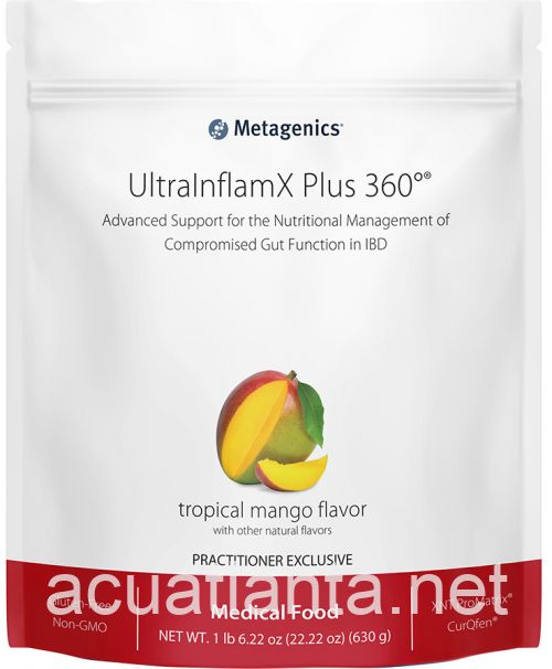 UltraInflamX Plus 360 14 servings Tropical Mango Flavor