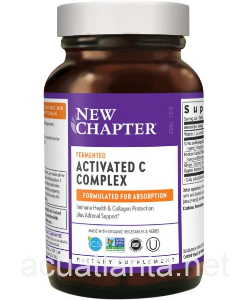 Activated C Food Complex 60 tablets