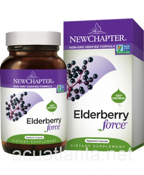 Elderberry Force 30 veggie capsules