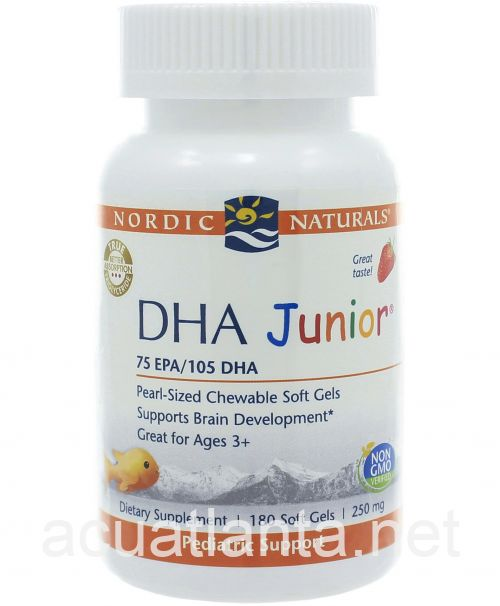 DHA Junior 180 capsules Strawberry
