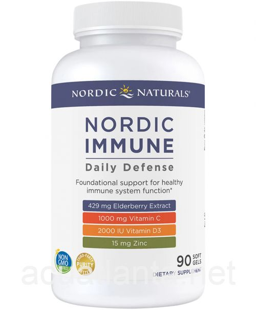 Nordic Immune Daily Defense 90 soft gels