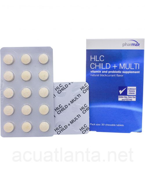 HLC Child + Multi 30 chewable tablets