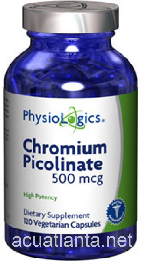 Chromium Picolinate 120 count 500 micrograms