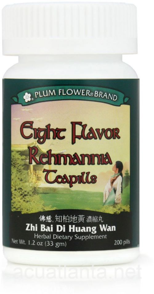 Eight Flavor Rehmannia 200 count