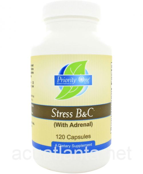 Stress B&C with Adrenal 120 capsules