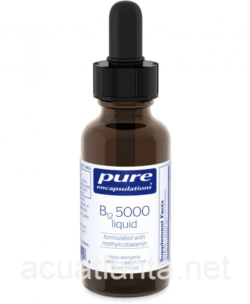 B12 5000 Liquid 30 milliliters
