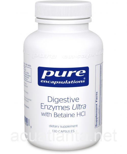 Digestive Enzymes Ultra with Betaine HCl 180 capsules