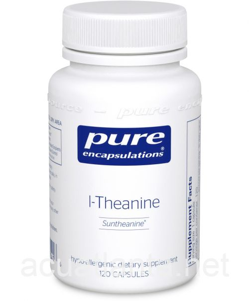 L-Theanine 120 vegetarian capsules 200 milligrams