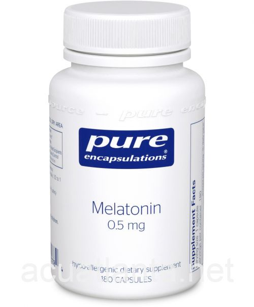 Melatonin 180 vegetarian capsules 0.5 milligrams