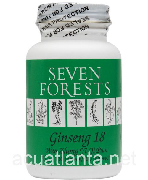 Ginseng 18 100 tablets