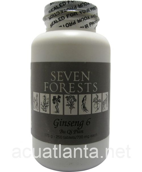 Ginseng 6 250 tablets