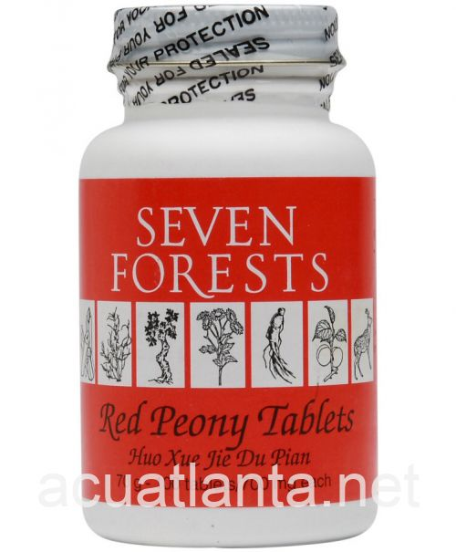 Red Peony Tablets 100 tablets