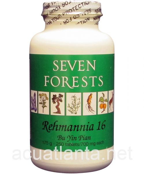 Rehmannia 16 250 tablets