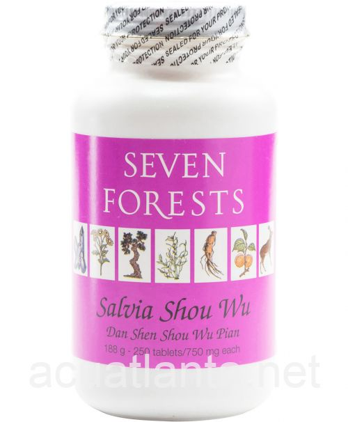 Salvia Shou Wu 250 tablets