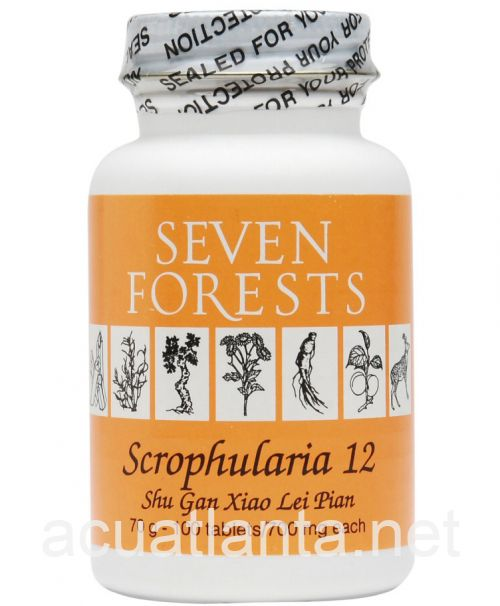 Scrophularia 12 100 tablets 700 milligrams
