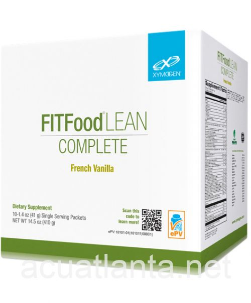 Fit Food Lean Complete French Vanilla 10 servings