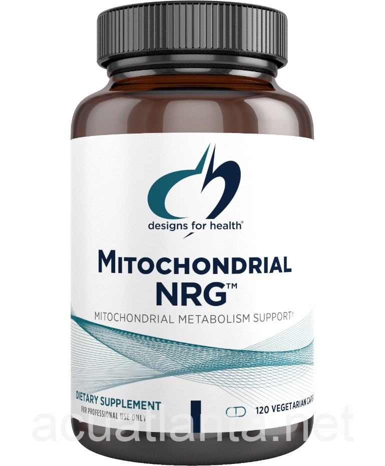 Mitochondrial Nrg 120 Capsules By Designs For Health