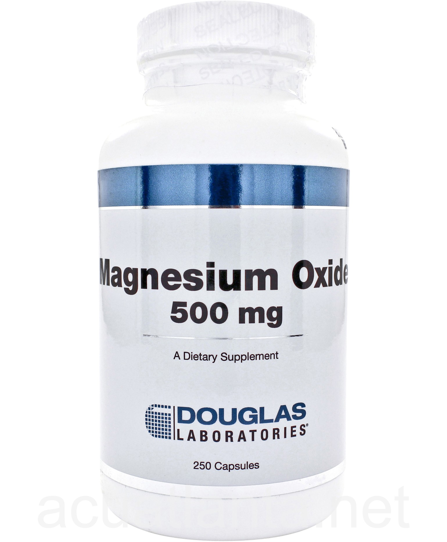 Magnesium Oxide 250 capsules 500 milligrams by Douglas ...