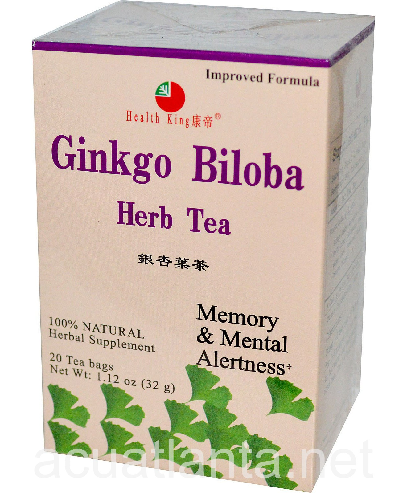 an examination of ginkgo biloba and other herbal products The investigation found supplements, including echinacea, ginseng, st john's wort,  the other bottles yielded no dna from the labeled herb.