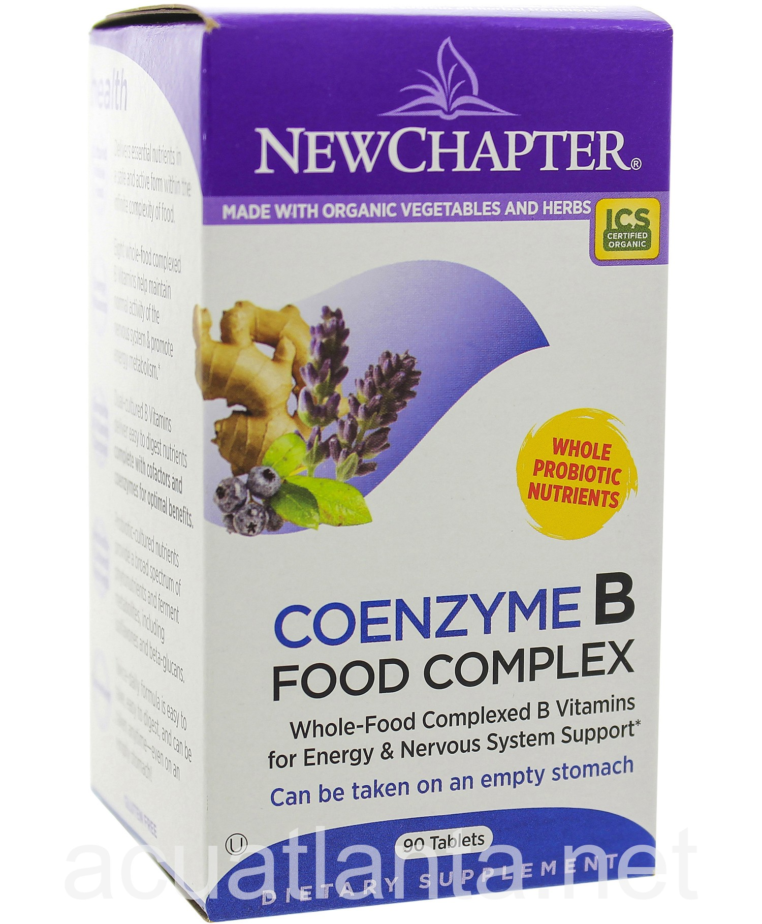 New Chapter Coenzyme B Food Complex Vitamin